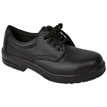 Schuhe Herren Derby-Schuhe Safeway Schnürer Art. 22271 schwarz