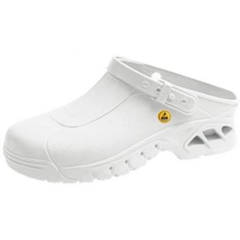 Schuhe Damen Pantoletten / Clogs Abeba ESD Clog  39600 weiß