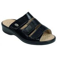 Schuhe Damen Pantoffel Weeger Halux-Pant Art. 14432 schwarz
