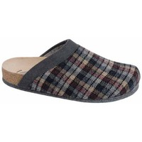 Schuhe Herren Hausschuhe Weeger Hausschuh Art. 48027 CARLO grau