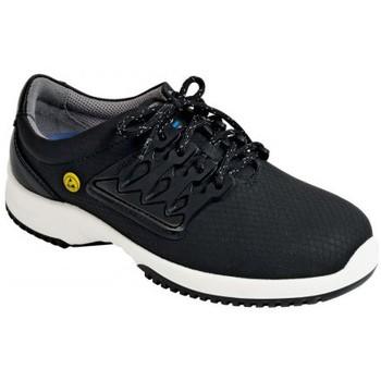 Schuhe Herren Sneaker Low Abeba ESD Schnürer S1 31760/1 schwarz