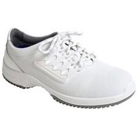 Schuhe Herren Sneaker Low Abeba ESD Schnürer S1 31760/1 weiß
