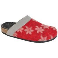 Schuhe Damen Hausschuhe Weeger Hausschuh SVETLANA rot