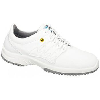 Schuhe Herren Sneaker Low Abeba ESD Schnürer  31760 weiß