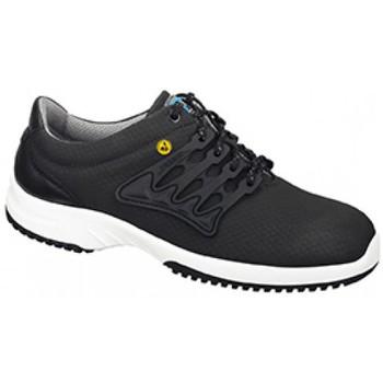 Schuhe Herren Sneaker Low Abeba ESD Schnürer  31761 schwarz