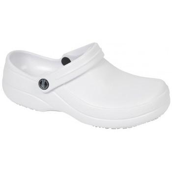 Schuhe Herren Pantoletten / Clogs Weeger Froggz Clogs Art. 48036 weiß