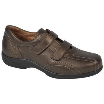 Schuhe Damen Sneaker Low Weeger Slipper Art. 13800 bronze met