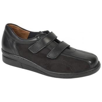 Schuhe Damen Sneaker Low Weeger Slipper Art. 13700 (Halux-Valgus) schwarz