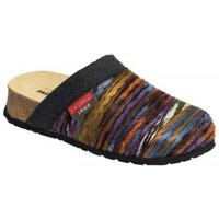 Schuhe Damen Pantoffel Weeger Hausschuh Art. 41525 Keilsohle multicolor