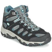 Schuhe Damen Wanderschuhe Merrell RIDGEPASS MID GTX Grau