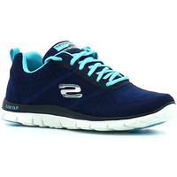 Schuhe Damen Indoorschuhe Skechers Flex Appeal Simply Sweet Blau
