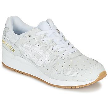 Schuhe Damen Sneaker Low Asics GEL-LYTE III PACK SAINT VALENTIN W Weiss / Goldfarben
