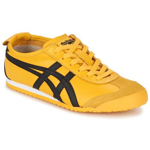 Schuhe Sneaker Low Onitsuka Tiger MEXICO 66 Gelb / Schwarz