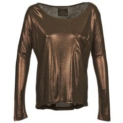 Kleidung Damen Langarmshirts Chipie NINON Goldfarben
