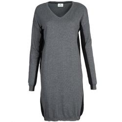 Kleidung Damen Kurze Kleider Chipie MONNA Grau / Schwarz