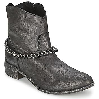 Schuhe Damen Boots Meline VUTIO Schwarz