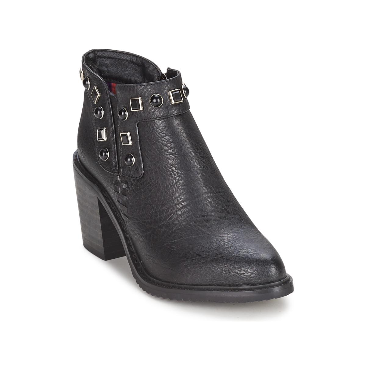 Gioseppo MOSENA Schwarz - Kostenloser Versand bei Spartoode ! - Schuhe Low Boots Damen 28,00 €