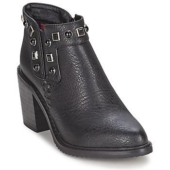 Schuhe Damen Low Boots Gioseppo MOSENA Schwarz