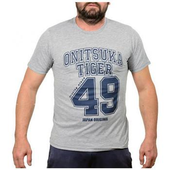 Kleidung Herren T-Shirts Onitsuka Tiger Baseballt-shirt Grau