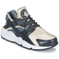 Schuhe Damen Sneaker Low Nike AIR HUARACHE RUN W Grau / Beige