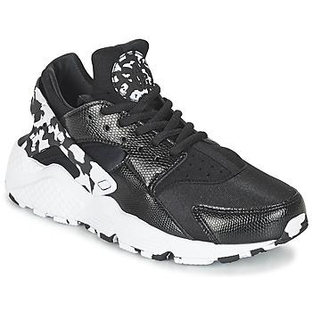 Schuhe Damen Sneaker Low Nike AIR HUARACHE RUN SE W Schwarz / Weiss