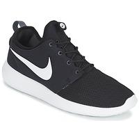 Schuhe Herren Sneaker Low Nike ROSHE TWO Schwarz / Weiss
