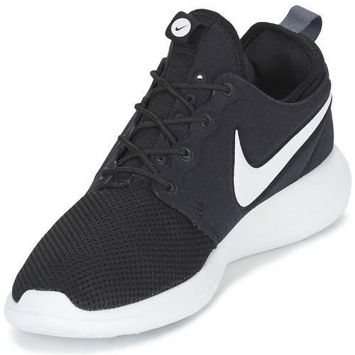 Nike ROSHE TWO Schwarz / Weiss