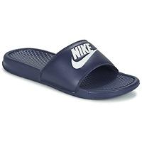 Schuhe Herren Pantoletten Nike BENASSI JDI Blau / Weiss