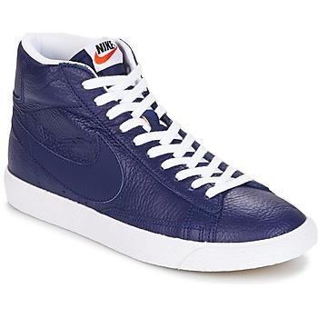 Schuhe Herren Sneaker High Nike BLAZER MID Blau