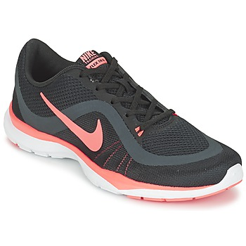 Schuhe Damen Fitness / Training Nike FLEX TRAINER 6 W Schwarz / Rose