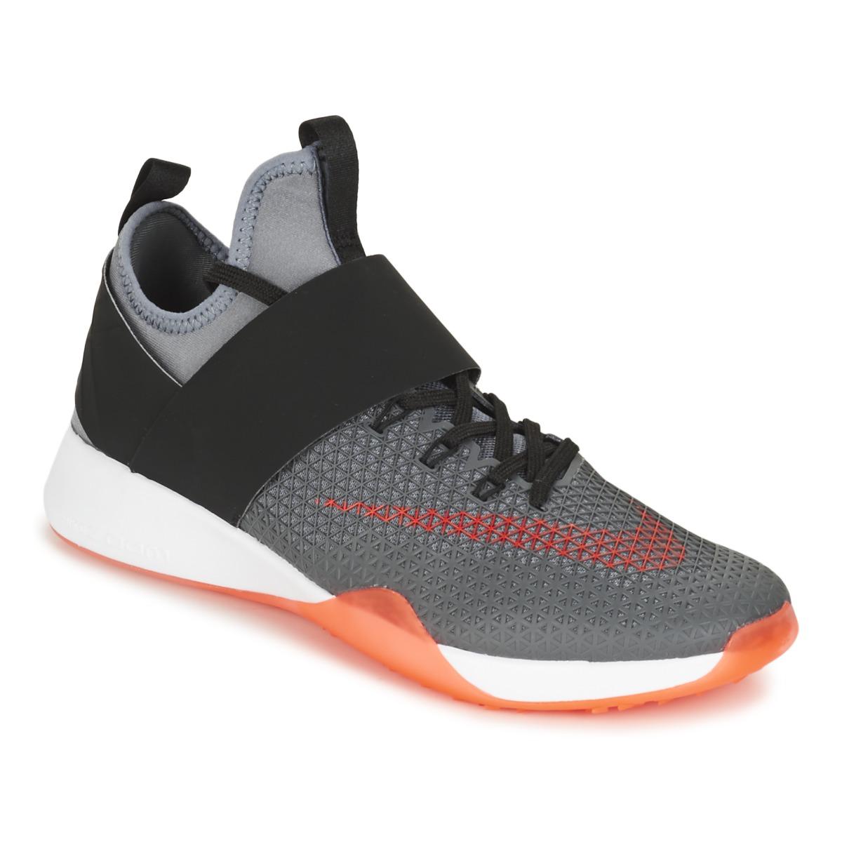 Nike AIR ZOOM STRONG W Grau / Schwarz - Kostenloser Versand bei Spartoode ! - Schuhe Fitnessschuhe Damen 71,40 €