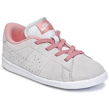 Schuhe Mädchen Sneaker Low Nike TENNIS CLASSIC PREMIUM TODDLER Grau / Rose