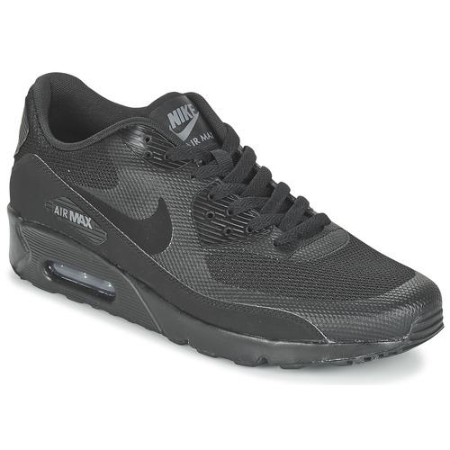Nike AIR MAX 90 ULTRA 2.0 ESSENTIAL Schwarz  Schuhe Sneaker Low Herren 116