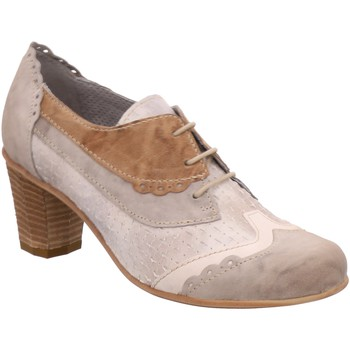 Schuhe Damen Ankle Boots Charme Byb - 502 beige