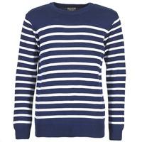 Kleidung Herren Pullover Casual Attitude FARCIELLE Marine / Weiss