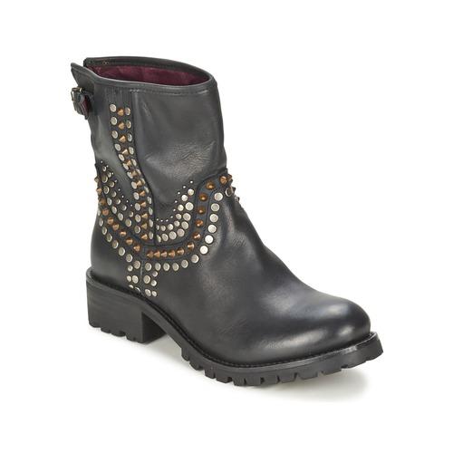 Ikks  SEATTLE-PREMIUM Schwarz  Ikks Schuhe Boots Damen 220 e6ec40