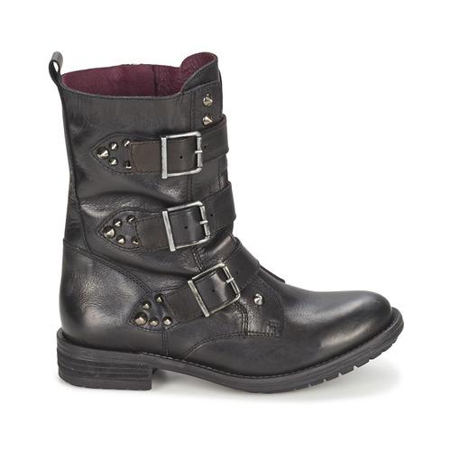 Ikks Ikks Ikks RANGER-COLLECTOR-BOUCLE Schwarz  Schuhe Boots Damen 220 6e3903