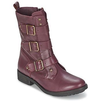 Stiefelletten / Boots Ikks RANGER-COLLECTOR-BOUCLE Bordeaux 350x350