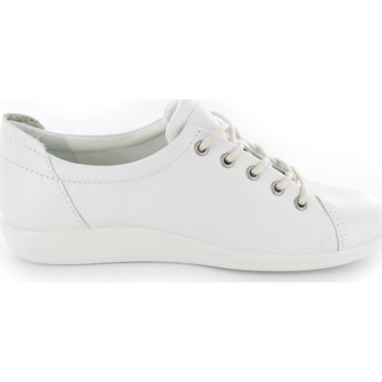 Schuhe Damen Sneaker Low Ecco NV 01007°white