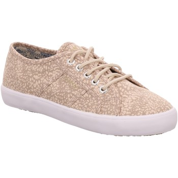 Schuhe Damen Sneaker Low Esprit Italia Lace Up beige