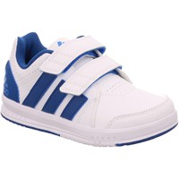 Schuhe Kinder Fitness / Training adidas Originals LK Trainer 7 CF K weiß