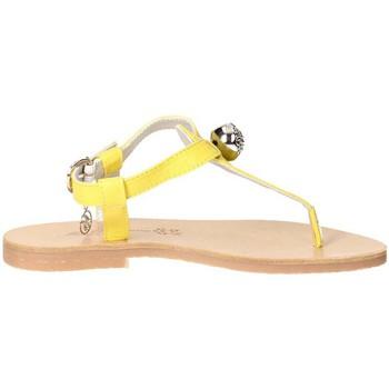 Schuhe Mädchen Sandalen / Sandaletten Blumarine Blumarine  D5352 Slip-on Schuhe Mädchen Jeans Jeans