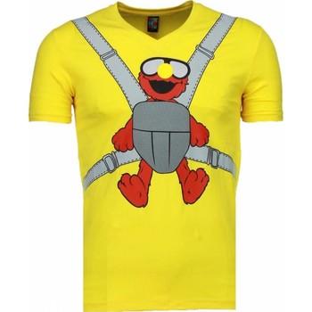 Kleidung Herren T-Shirts Local Fanatic Baby Bear Gelb