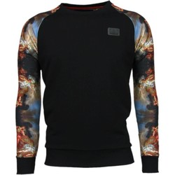 Kleidung Herren Sweatshirts Local Fanatic Mythologie Arm Motiv Schwarz