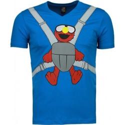 Kleidung Herren T-Shirts Local Fanatic Baby Bear Blau