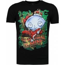 Kleidung Herren T-Shirts Local Fanatic Rich Stewie Schwarz