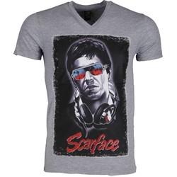 Kleidung Herren T-Shirts Local Fanatic Scarface Grau