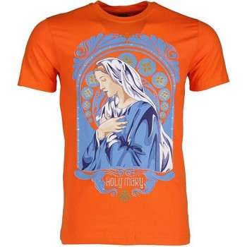 Kleidung Herren T-Shirts Local Fanatic Holy Mary Orange Orange