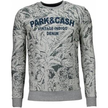 Kleidung Herren Sweatshirts Bn8 Black Number Park&Cash Grau