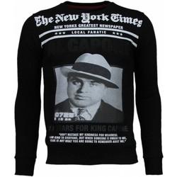 Kleidung Herren Sweatshirts Local Fanatic Al Capone Strass Schwarz